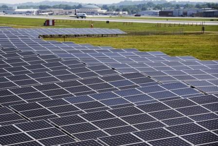 Один из аэропортов штата Теннесси полностью перешел на энергию солнца
