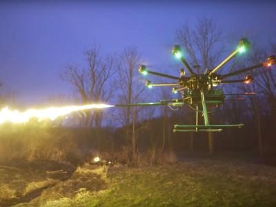 В FAA напомнили о том, что несанкционированное использование вооруженного дрона грозит оператору устройства серьезными неприятностями