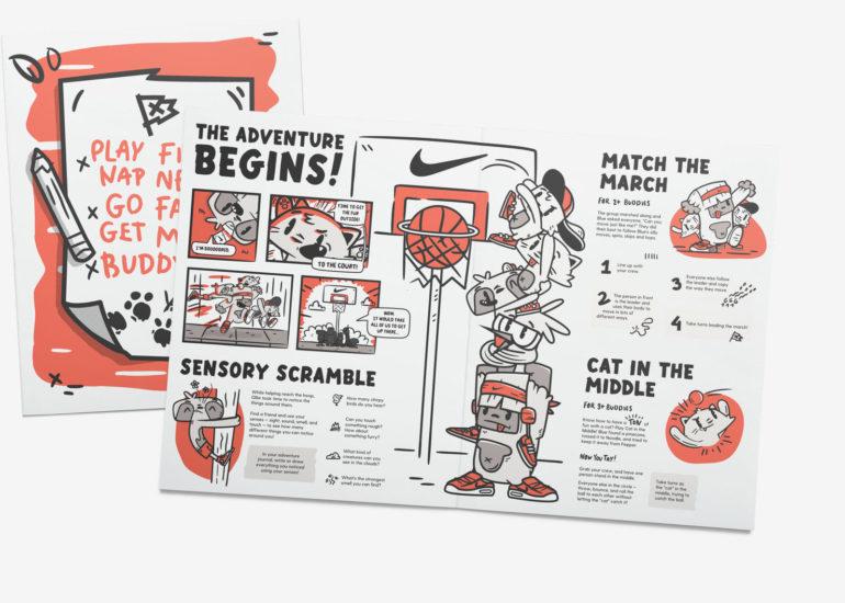 Nike представила годовую подписку на... кроссовки для детей