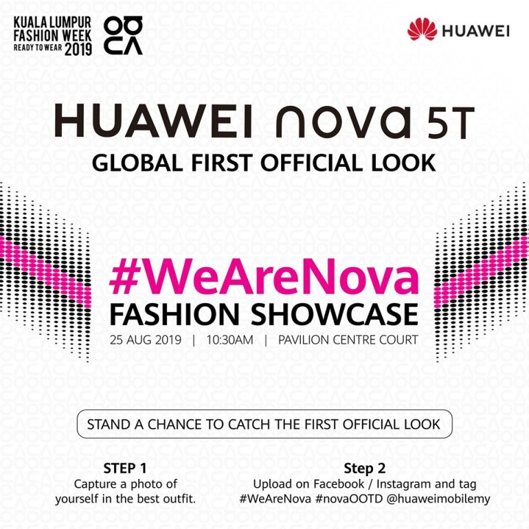Конкурент Samsung Galaxy S10e. Компактный флагман Huawei nova 5T будет представлен 25 августа