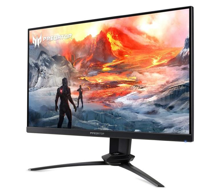 В Украине стартовали продажи геймерского 24,5-дюймового монитора Acer Predator XN253QX с частотой обновления 240 Гц и временем реакции до 0,4 мс по цене 18 тыс. грн