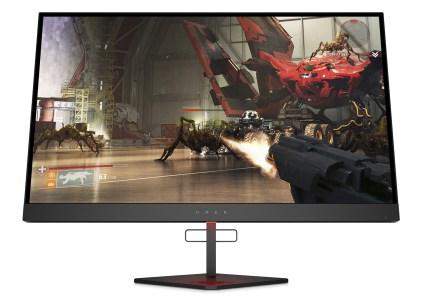Игровой монитор HP Omen X 27 получил поддержку частоты 240 Гц, FreeSync 2, HDR и цену $650