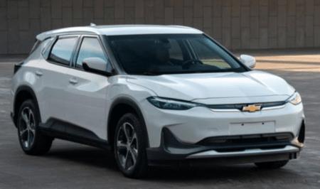 General Motors показал в Китае электрокроссовер Chevrolet Menlo EV, созданный на основе электромобиля Chevrolet Bolt