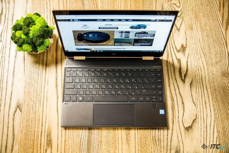 Spectre X360 13 2019 клавиатура и тачпад