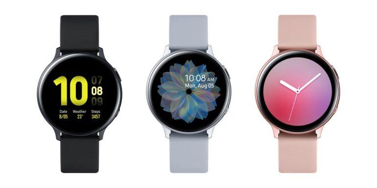 Анонсированы умные часы Samsung Galaxy Watch Active2, продажи в Украине стартуют в сентябре по цене от 9 тыс. грн