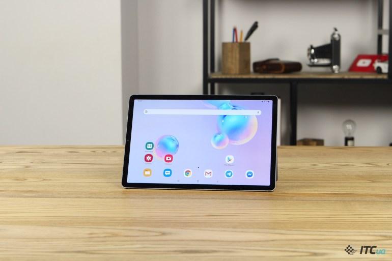 Galaxy Tab S6 дизайн