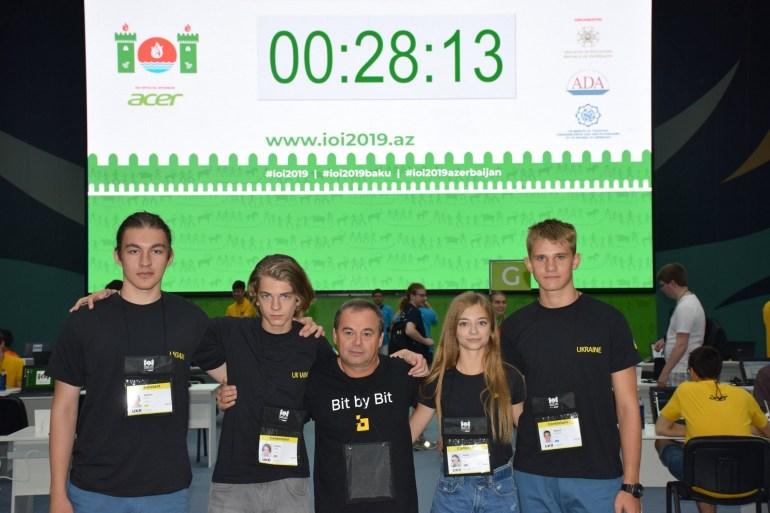 Украинские школьники завоевали четыре медали на Международной олимпиаде по информатике (IOI 2019)