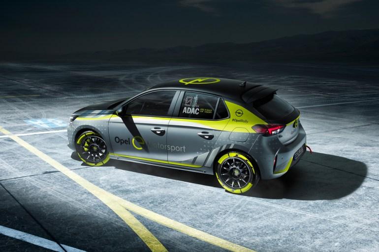Opel представил первый в мире раллийный электромобиль 03