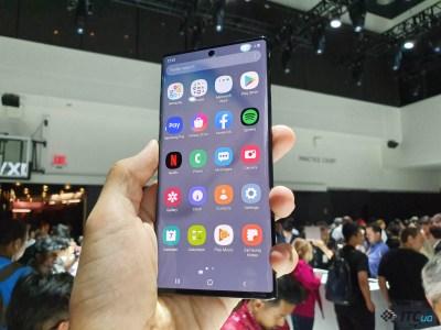 Специалисты DisplayMate назвали экран Samsung Galaxy Note10+ лучшим на рынке смартфонов