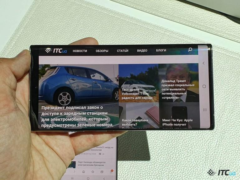 Первый взгляд на Samsung Galaxy Note10 и Note10+