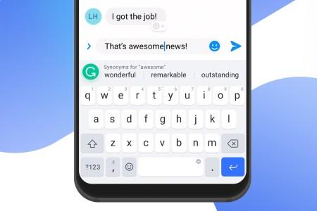 Мобильная клавиатура Grammarly Keyboard научилась предлагать синонимы