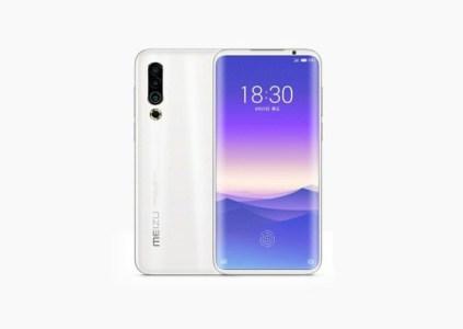 Опубликован рендер предполагаемого смартфона Meizu 16S Pro: изогнутый дисплей, тройная камера, сканер отпечатков пальцев под экраном