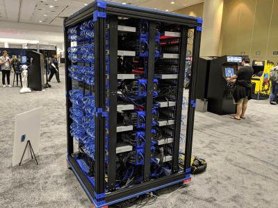 «Почему бы и нет». Oracle собрала суперкомпьютер из более тысячи Raspberry Pi 3 B+