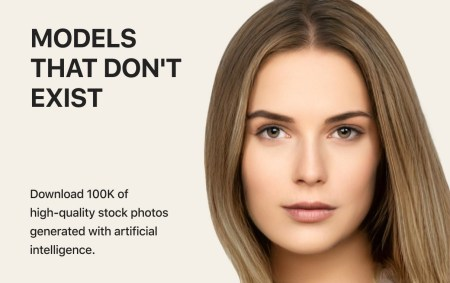 Generated Photos — первый крупный открытый датасет, состоящий из изображений лиц, сгенерированных нейросетью