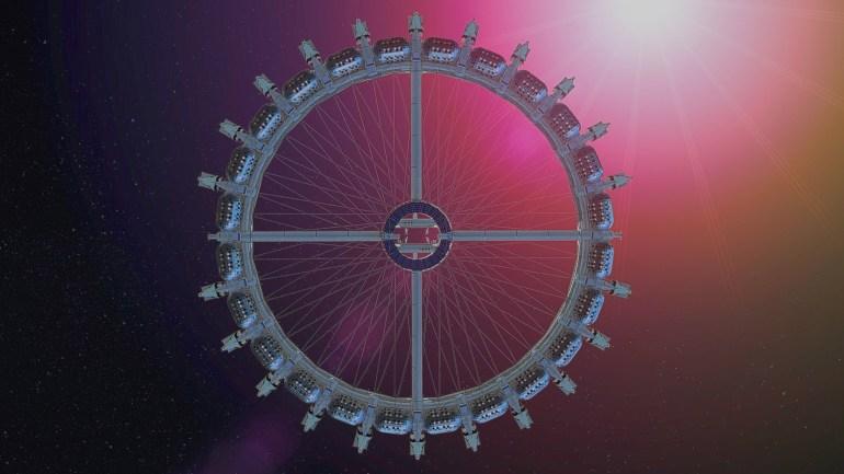 Стартап Gateway Foundation объявил о намерении ввести в эксплуатацию космический отель к 2025 году