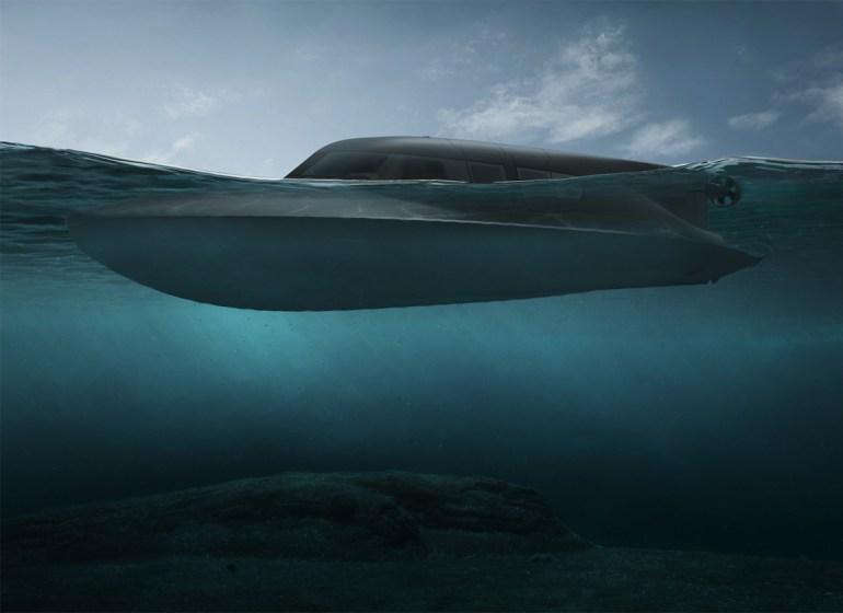 Инженеры SubSea Craft намерены разработать катер VICTA, который сможет передвигаться и над водой, и под водой