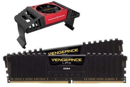 Corsair выпустила первый в мире набор модулей памяти DDR4-4866