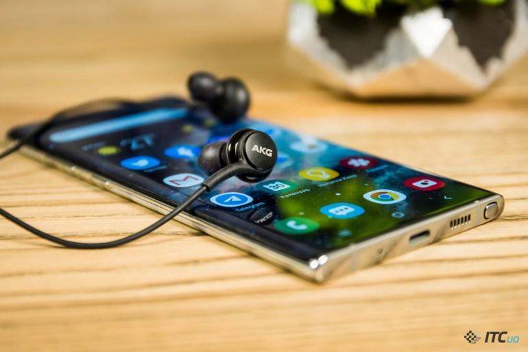 Galaxy Note10+ наушники