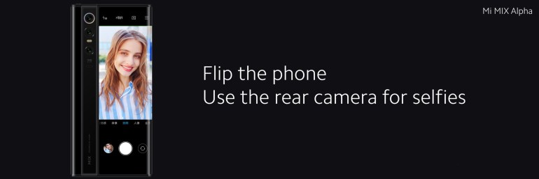 Xiaomi показала смартфон Mi MIX Alpha с обволакивающим дисплеем, занимающим 180% лицевой панели