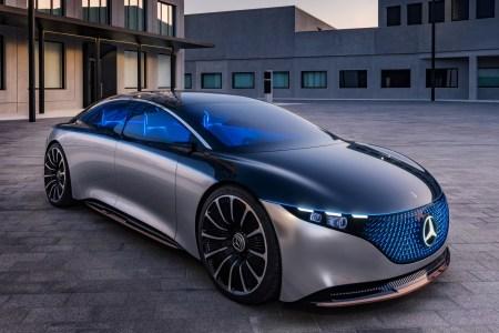 Концепт электромобиля Mercedes-Benz Vision EQS получил премиальный дизайн, мощность 350 кВт, батарею на 100 кВтч и запас хода 700 км