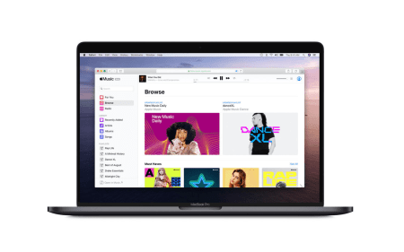 Наконец-то! У Apple Music появилась браузерная версия