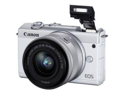 Canon анонсировала доступную беззеркальную камеру EOS M200 с поддержкой записи видео 4K