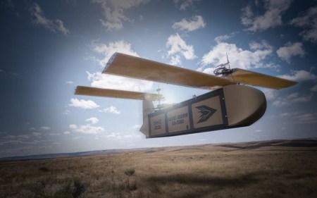 Silent Arrow – массивный дрон для доставки на поле боя припасов массой до 3/4 тонны