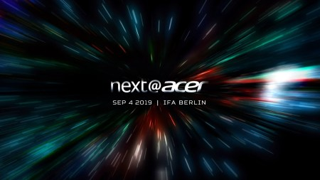 Прямая видеотрансляция с пресс-конференции Next@Acer на IFA 2019 [Завершена]