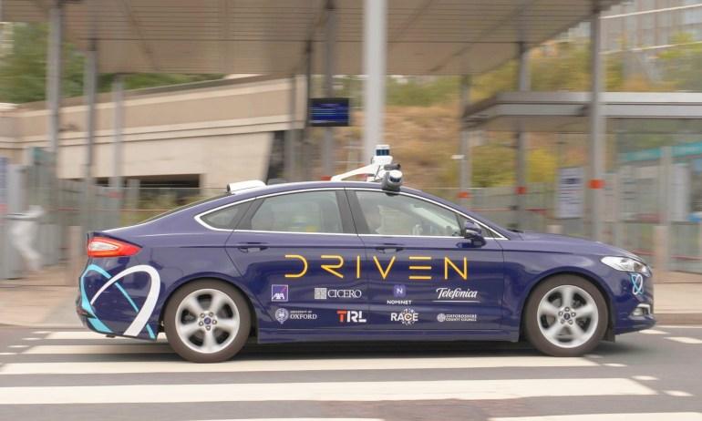 Беспилотные такси могут появиться на улицах Лондона уже в следующем году