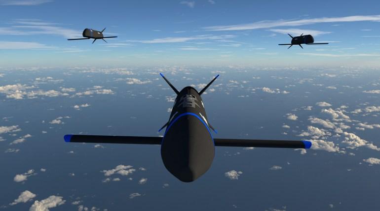 Американские «гремлины» получили обозначение от ВВС США - X-61A