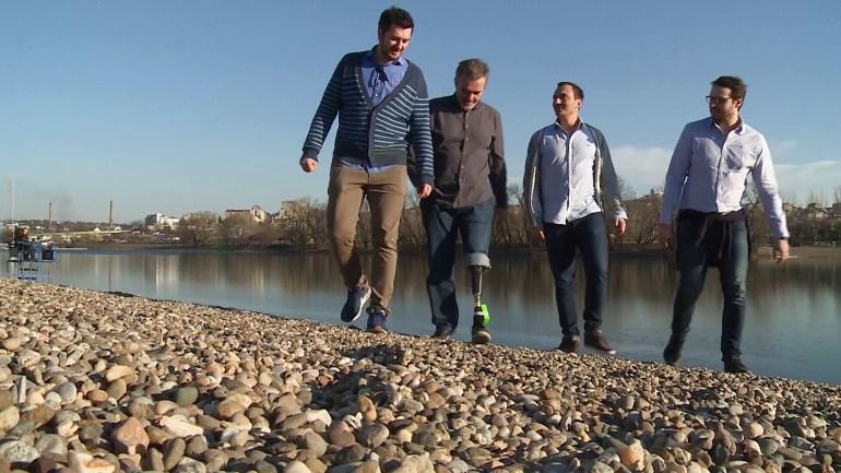 Новый нейропротез ноги воспринимается центральной нервной системой пользователя в качестве продолжения конечности