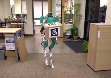 Двуногие роботы Digit со следующего года начнут заменять грузчиков на складах и фабриках