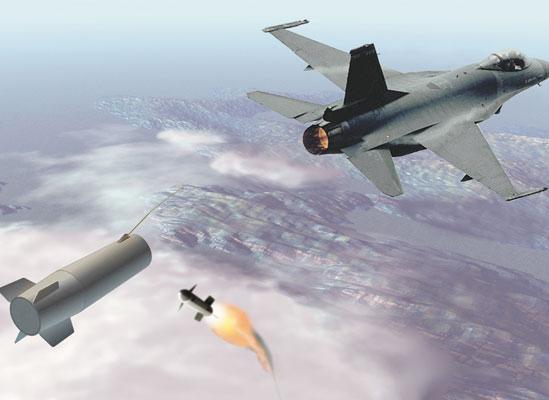 BAE Systems разработает буксируемую истребителем систему, которая при необходимости заставит ракету противника попасть не в истребитель, а в нее