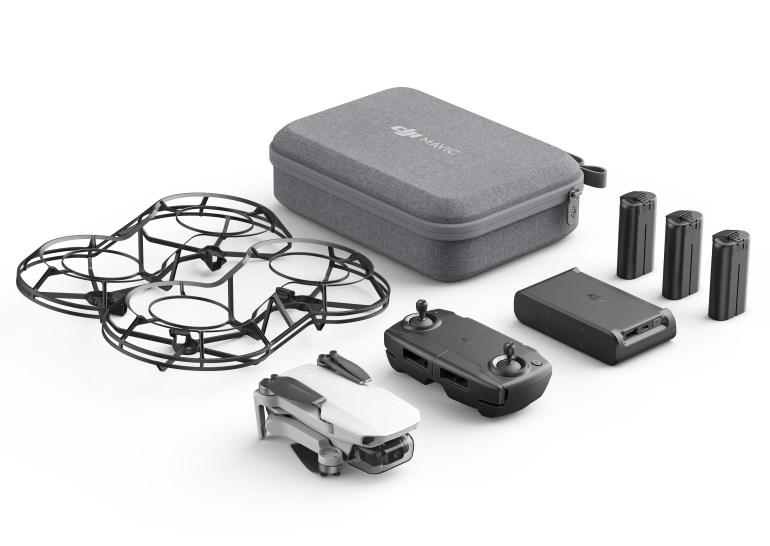 DJI выпустила складной дрон Mavic Mini массой менее 250 г по цене €400