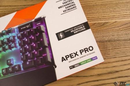Apex Pro — обзор игровой механической клавиатуры от SteelSeries