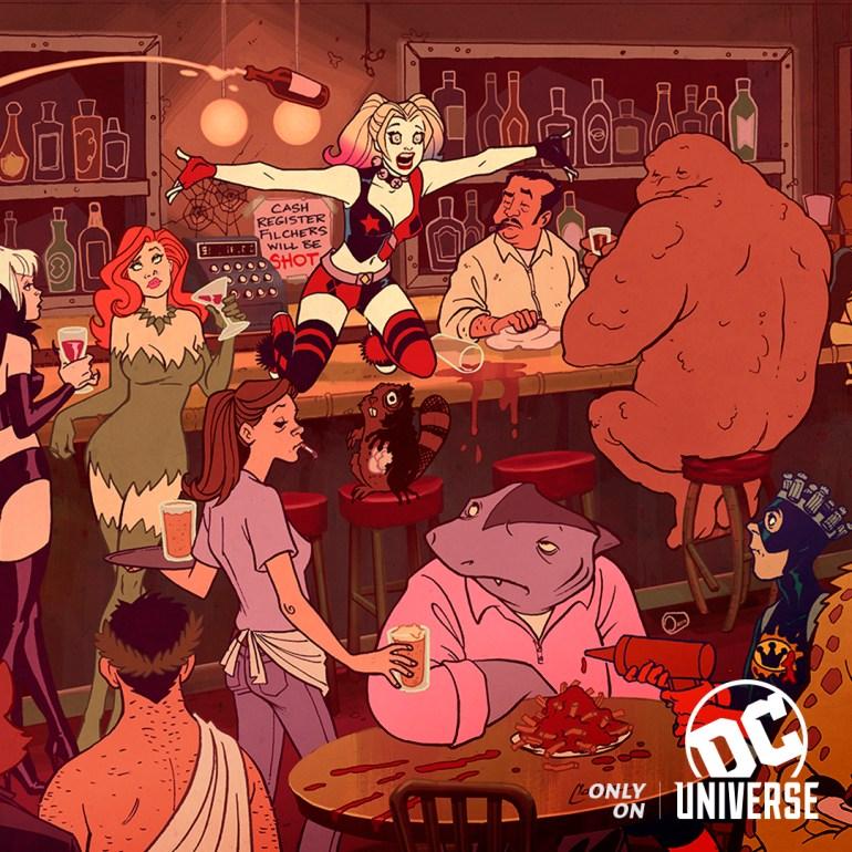 """Анимационный сериал для взрослых Harley Quinn / """"Харли Квинн"""" получил дату премьеры на платформе DC Universe"""