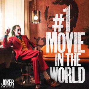 «Джокер» с Хоакином Фениксом уже собрал $550 млн в прокате при бюджете $55 млн и продолжает лидировать в рейтинге текущих киносборов