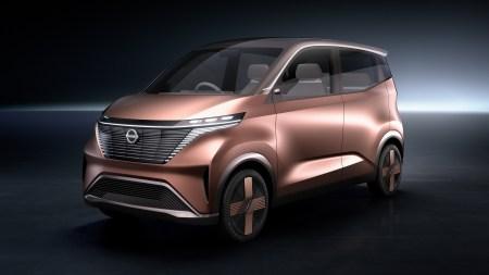 Представлен Nissan IMk — концепт электрического сити-кара в стилистике японских кей-каров