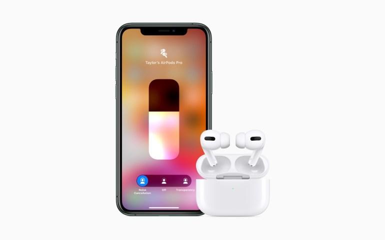 AirPods Pro – наушники Apple с активным шумоподавлением