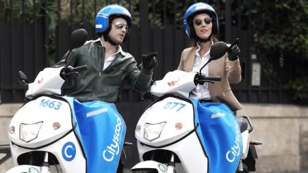 Электроскутеры Cityscoot скоро можно будет брать напрокат в Париже непосредственно в приложении Uber