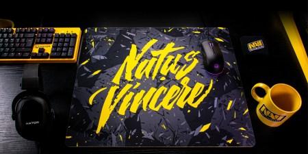 Команда Natus Vincere анонсировала линейку игровых поверхностей