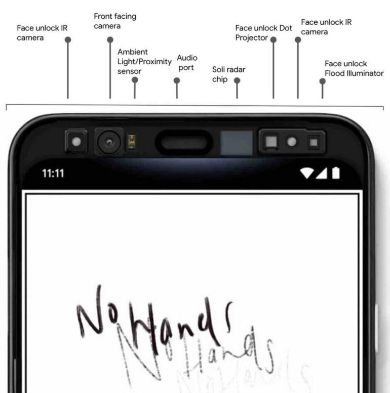 Утечка показала, как работают функции Face unlock и Motion Sense на смартфонах Google Pixel 4