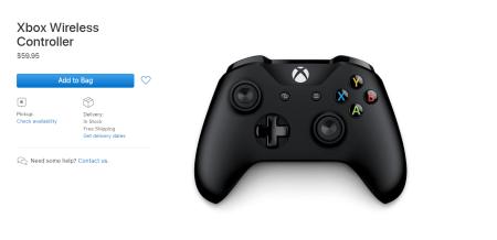 Все ради Arcade. Apple начала продавать геймпад Xbox у себя на сайте (но покупать его там мы, конечно же, не будем)
