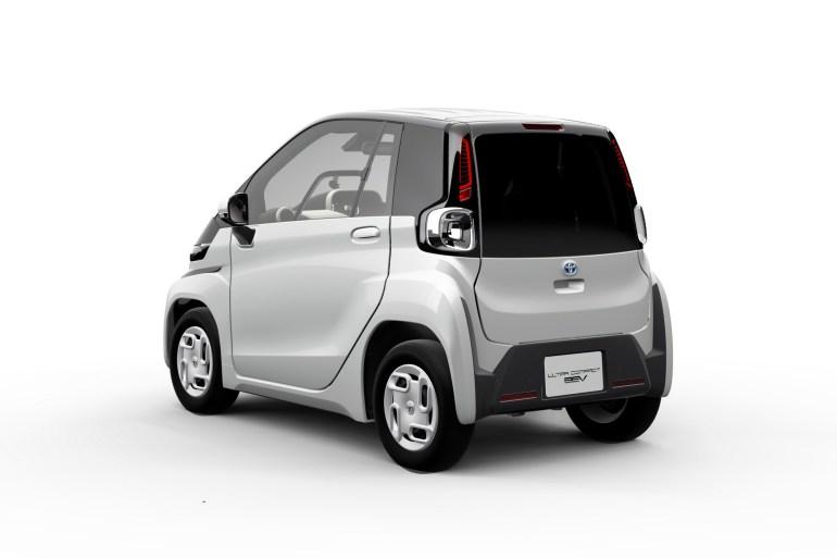 Toyota представила электрический двухместный сити-кар Ultra-Compact BEV с запасом хода 100 км, серийная версия выйдет на рынок в 2020 году