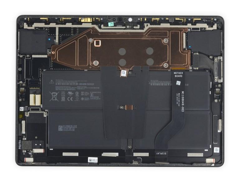 iFixit: Surface Pro X – один из самых хорошо приспособленных для ремонта планшетов