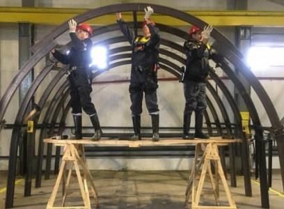 Обновлено: «ДТЭК» тестирует использование разгрузочных экзоскелетов в угольных шахтах