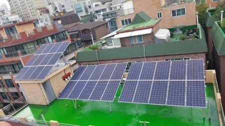 Власти Сеула активно обустраивают солнечными батареями общественные места и здания