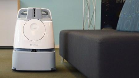 SoftBank и ICE Robotics представили робота-уборщика Whiz