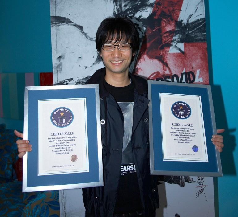 Хидэо Кодзима вновь попал в «Книгу рекордов Гиннеса». Теперь - как геймдиректор с самым большим количеством подписчиков в Twitter и Instagram