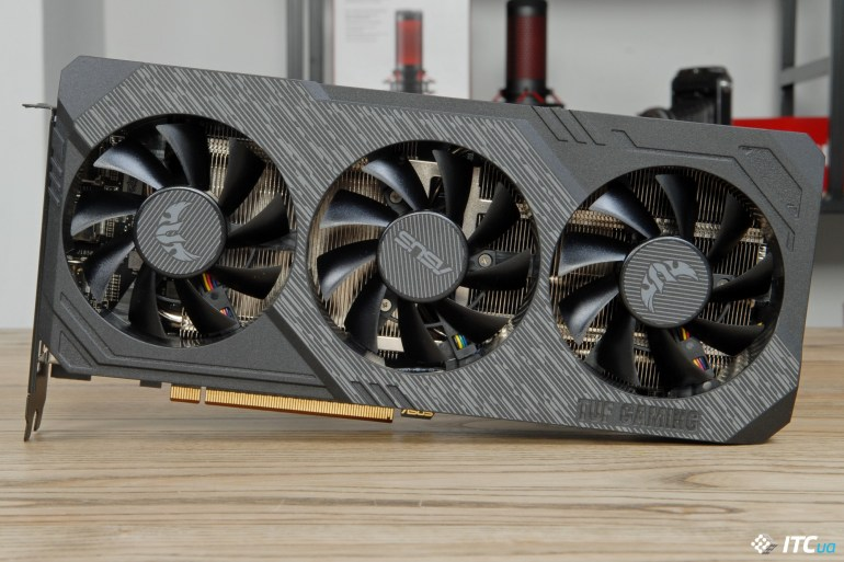 ASUS TUF Gaming X3 Radeon RX 5700 OC cooler